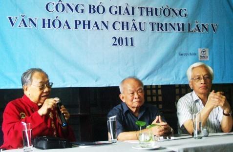 Verleihung des Kulturpreises Phan Chau Trinh  - ảnh 1