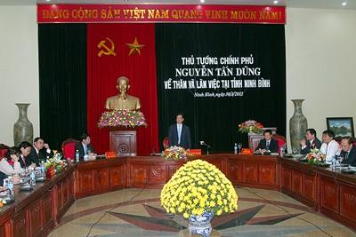 Ninh Binh feiert den 20. Jahrestag der Neugründung der Provinz - ảnh 1
