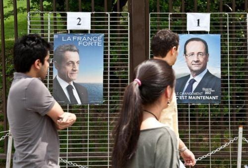 Frankreich in zweiter Runde der Präsidentenschaftswahlen - ảnh 1