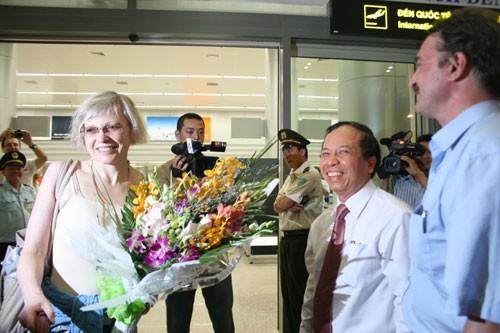 Erster Flug aus Russland nach Da Nang - ảnh 1