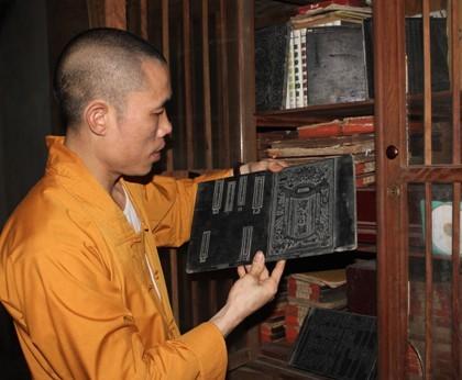 Holzdrucke der Vinh Nghiem Pagode als Weltdokumentenerbe anerkannt - ảnh 1