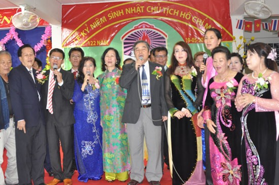 Weltweite Feiern zum 122. Geburtstag des Präsidenten Ho Chi Minh im Ausland - ảnh 1