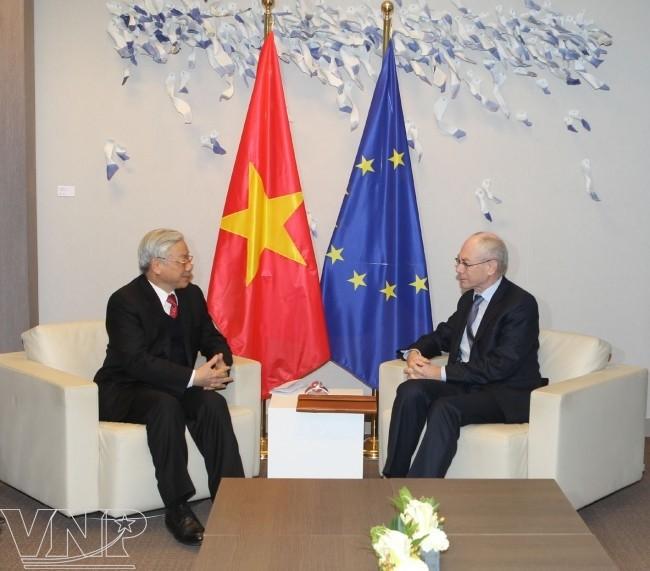 Impulse für Beziehungen zwischen Vietnam und Westeuropa  - ảnh 1