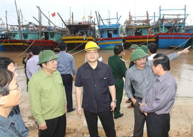 Vietnam ergreift Vorsorgemaßnahmen gegen Taifun Haiyan - ảnh 1