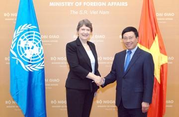 UNDP-Generaldirektorin beendet Vietnambesuch - ảnh 1
