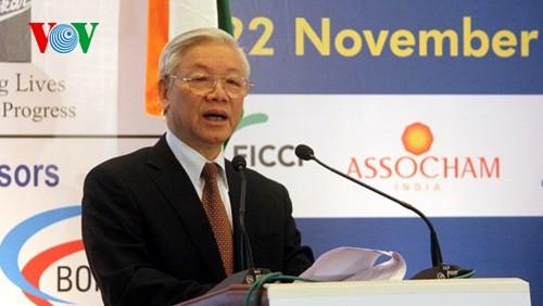 KPV-Generalsekretär Nguyen Phu Trong besucht die Stadt Mumbai in Indien - ảnh 1