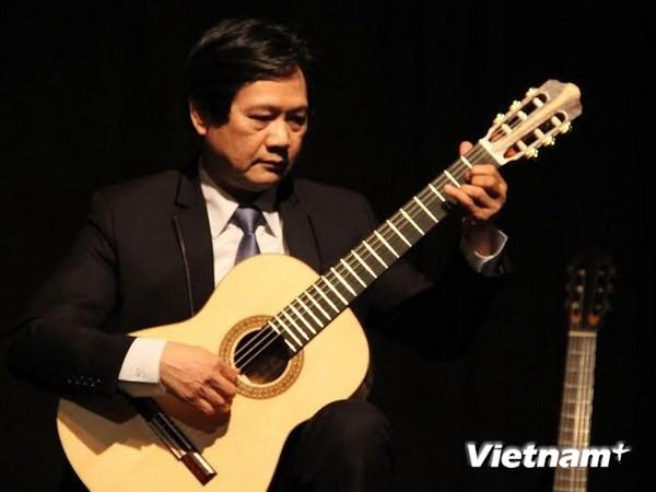 Vietnamesische Volkslieder sind im internationalen Gitarrenwettbewerb Berlin geehrt - ảnh 1