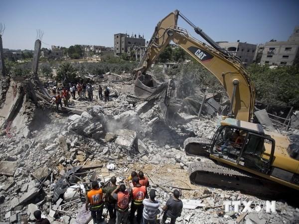 Mehrere hundert Millionen US-Dollar Hilfe zum Wiederaufbau des Gazastreifens - ảnh 1