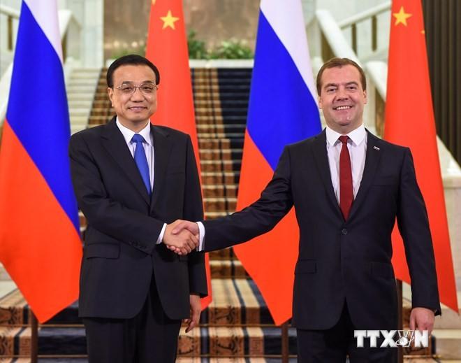 Russland und China schließen eine Reihe von Zusammenarbeitsabkommen ab - ảnh 1