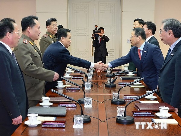 Südkorea schlägt einen Termin für hochrangige Verhandlung mit Nordkorea vor - ảnh 1