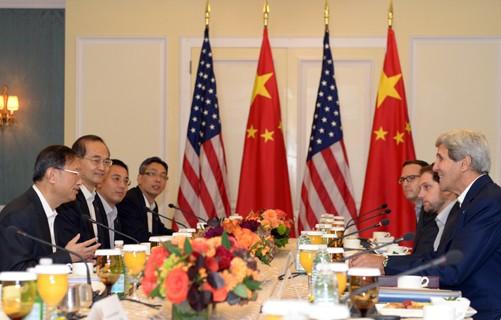 China und USA einigen sich auf Zusammenarbeit bei der Bekämpfung der Ebola-Epidemie - ảnh 1