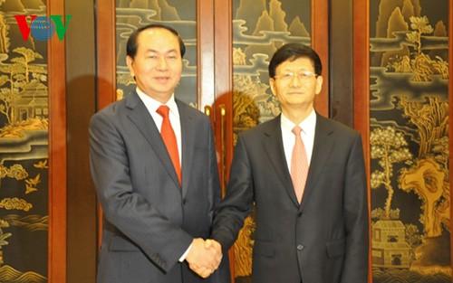 Vietnam und China verstärken die Zusammenarbeit im Bereich Sicherheit - ảnh 1