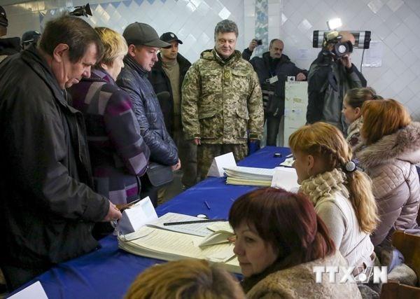 Ergebnisse der vorgezogenen Parlamentswahlen in der Ukraine - ảnh 1