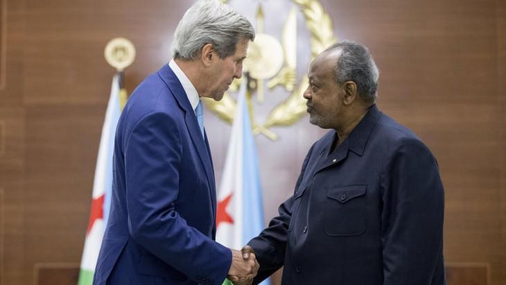 US-Außenminister John Kerry besucht Dschibuti - ảnh 1