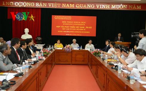Die Zusammenarbei zwischen Vietnam und Indien verstärken - ảnh 1