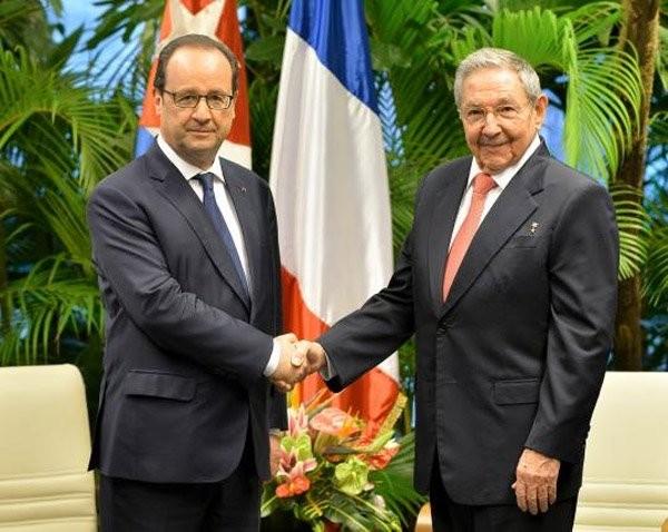 Frankreichs Präsident bricht das Eis zwischen dem Westen und Kuba - ảnh 1