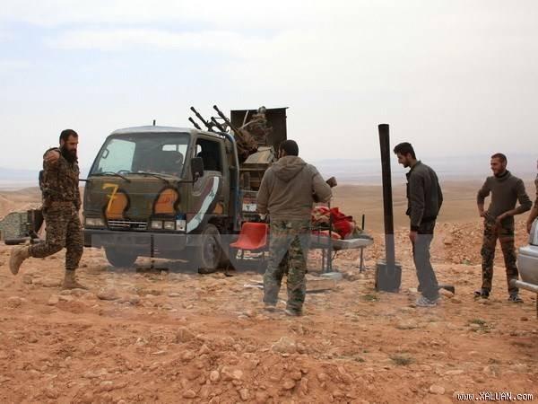 Russland unterstützt Soldaten der syrischen Regierung - ảnh 1