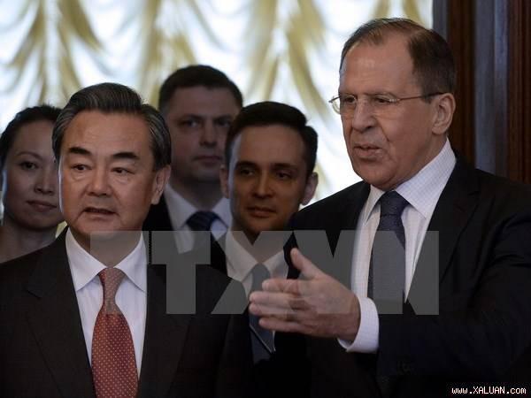 Russland und China arbeiten bei internationalen Fragen zusammen - ảnh 1