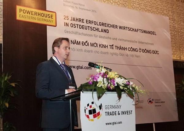 Deutsche Unternehmen bauen Zusammenarbeit mit vietnamesischen Unternehmen aus - ảnh 1