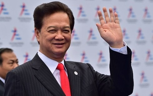 Premierminister Nguyen Tan Dung nimmt am ASEAN-Gipfeltreffen im malaysischen Kuala Lumpur teil - ảnh 1