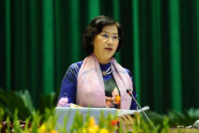 Parlamentspräsidentin trifft Abgeordneten aller Legislaturperioden der Provinz Quang Ninh - ảnh 1