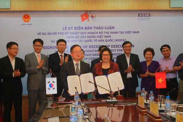 KOICA unterstützt Vietnam bei der Durchführung des Bauprojektes grüne Städte - ảnh 1