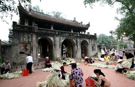 Schönheit der Strohhüte des Dorfes Chuong - ảnh 3