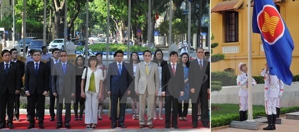 Vietnamesischer Botschafter führt Flaggenzeremonie in Pakistan - ảnh 1