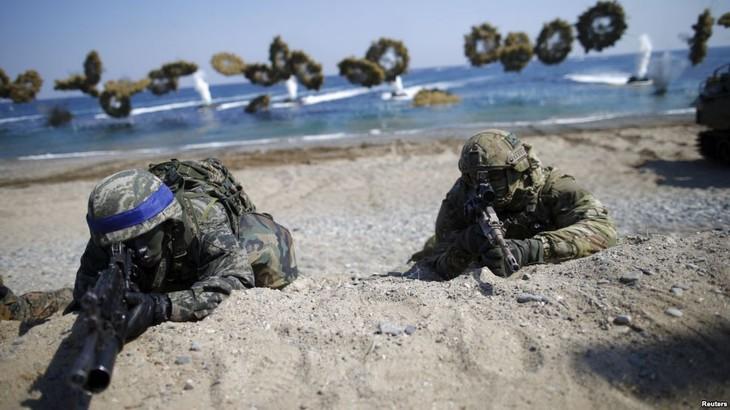 Nordkorea kritisiert das gemeinsame Manöver zwischen USA und Südkorea - ảnh 1