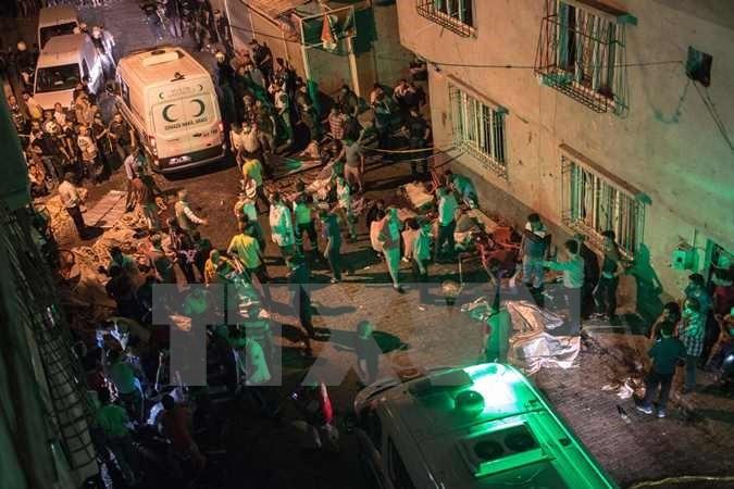 USA und Deutschland verurteilen den Angriff auf Hochzeit in der Türkei - ảnh 1