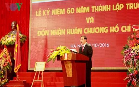 Staatspräsident Tran Dai Quang zu Gast beim 60. Gründungstag der TU Hanoi - ảnh 1