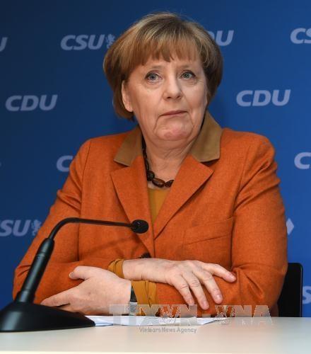 Bundestagswahl in Deutschland: CDU und CSU küren Merkel zur Kanzlerkandidatin - ảnh 1