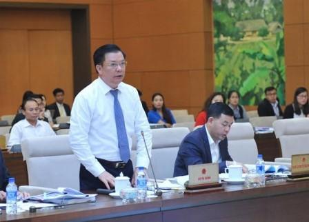 Ständiger Parlamentsausschuss berät über den Gesetzesentwurf zur Verwaltung der Staatsschulden - ảnh 1