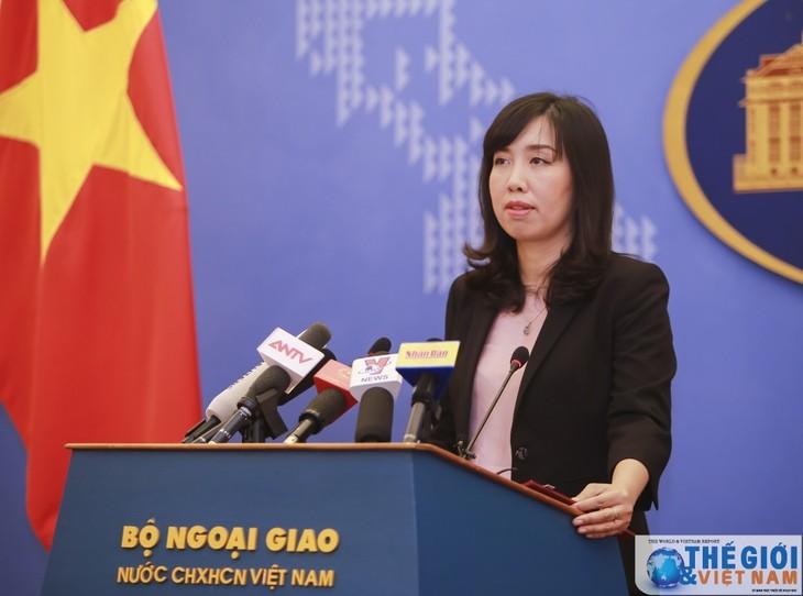 Vietnam fordert Respekt vor der Souveränität Vietnams gegenüber der Inselgruppe Truong Sa - ảnh 1