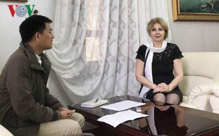 Freundschaftlicher Austausch zum Jahrestag zwischen Vietnam und Armenien - ảnh 1