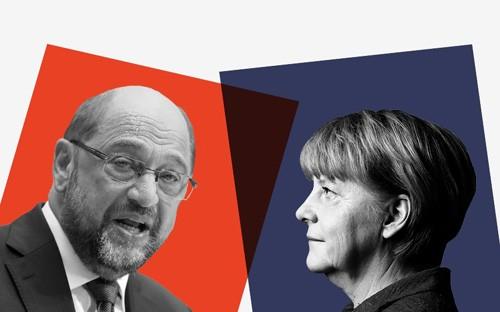 Deutsche Wahlberechtigte beginnen die Abstimmung für Bundestagswahl 2017 - ảnh 1