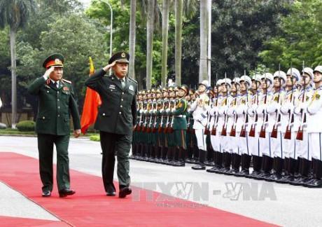 Freundschaftlicher Austausch an der Grenze zwischen Vietnam und China - ảnh 1