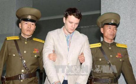 Nordkorea weist Vorwurf der Folter an US-Student zurück - ảnh 1