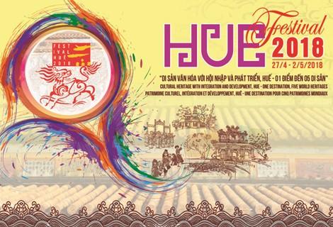 """Festival ເຫ້ວ 2018 ດ້ວຍຫົວຂໍ້ """"ມໍລະດົກວັດທະນະທຳກັບການເຊື່ອມໂຍງ - ເຫ້ວ: ສະຖານທີ່ 1 ດຽວມີ 5 ມໍລະດົກ"""" - ảnh 1"""