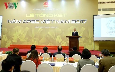 ທ່ານປະທານປະເທດ ເຈີ່ນດ້າຍກວາງ ເຂົ້າຮ່ວມພິທີສະຫລຸບປີ APEC 2017 - ảnh 1