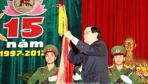 Zentralvietnamesische Provinz Quang Nam bekommt den Ho Chi Minh Orden verliehen - ảnh 1