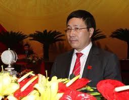 Außenminister Pham Binh Minh beendet seinen Brunei-Besuch - ảnh 1