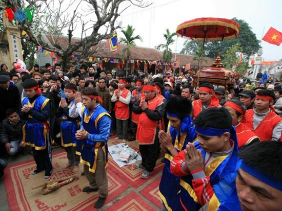 Reiskochwettbewerb im Dorf Thi Cam  - ảnh 3