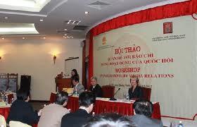 Seminar: Beziehungen zur Presse bei der Arbeit des Parlaments - ảnh 1