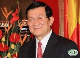 Staatspräsident Truong Tan Sang empfängt neue Botschafter - ảnh 1