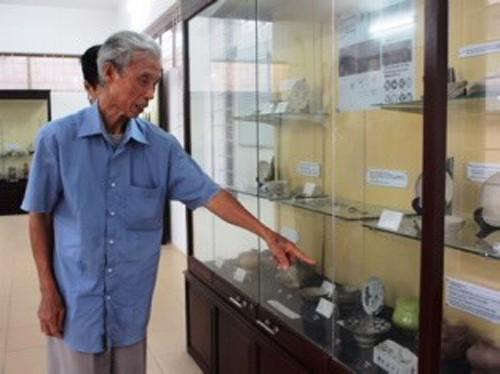 Keramik-Museum Kim Lan – das erste archäologische Museum der Gemeinde - ảnh 1