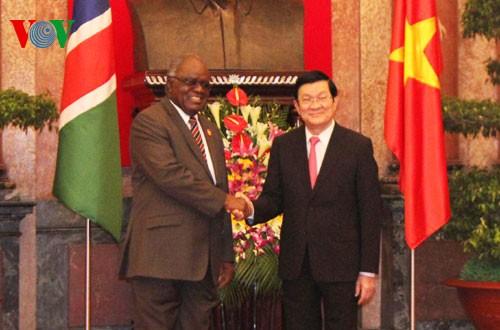 Vertiefung der Zusammenarbeit zwischen Vietnam und Namibia - ảnh 1
