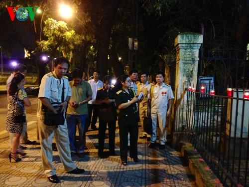 104. Geburtstag des Generals Vo Nguyen Giap an der Hoang Dieu Straße 30 - ảnh 1