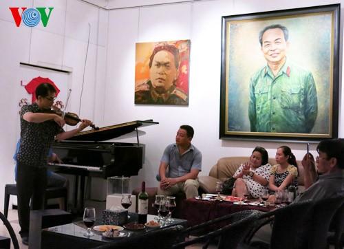 104. Geburtstag des Generals Vo Nguyen Giap an der Hoang Dieu Straße 30 - ảnh 14