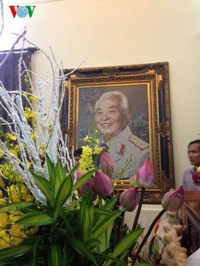 104. Geburtstag des Generals Vo Nguyen Giap an der Hoang Dieu Straße 30 - ảnh 4